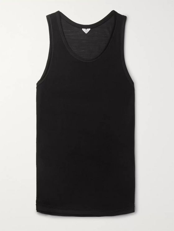 Secondskin Slub Silk Tank Top