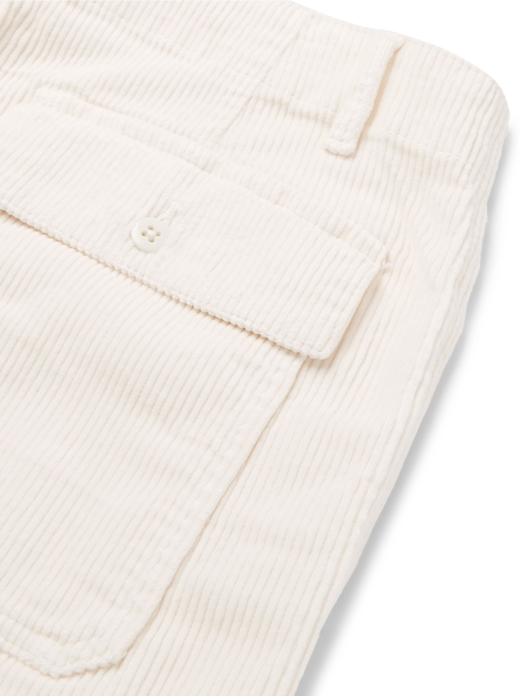 Todd Snyder Slim-Fit Stretch-Cotton Corduroy Shorts