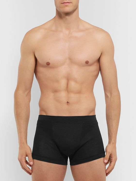 Secondskin Silk-Jersey Boxer Briefs