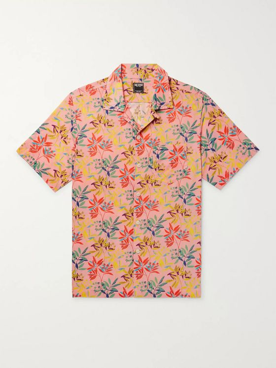 Todd Snyder + Liberty London Camp-Collar Floral-Print Cotton-Poplin Shirt