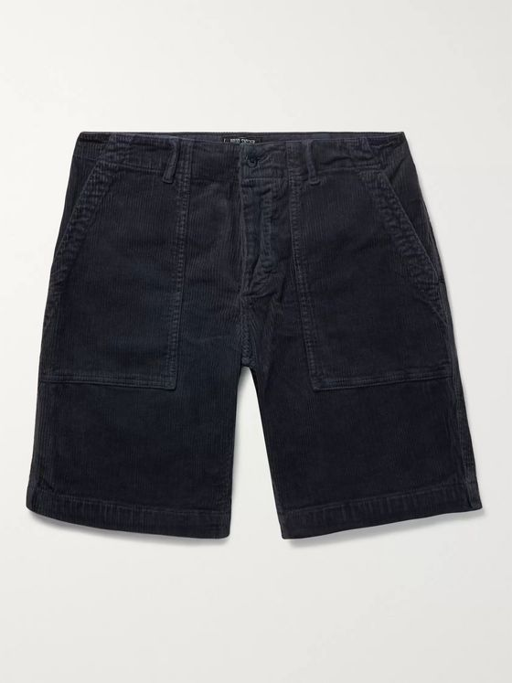 Todd Snyder Stretch-Cotton Corduroy Shorts
