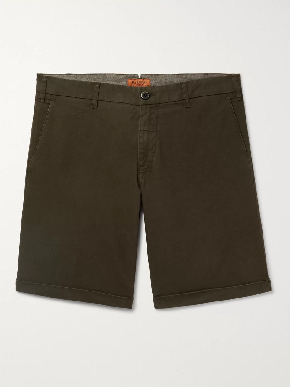 Barena Stretch-Cotton Ripstop Shorts