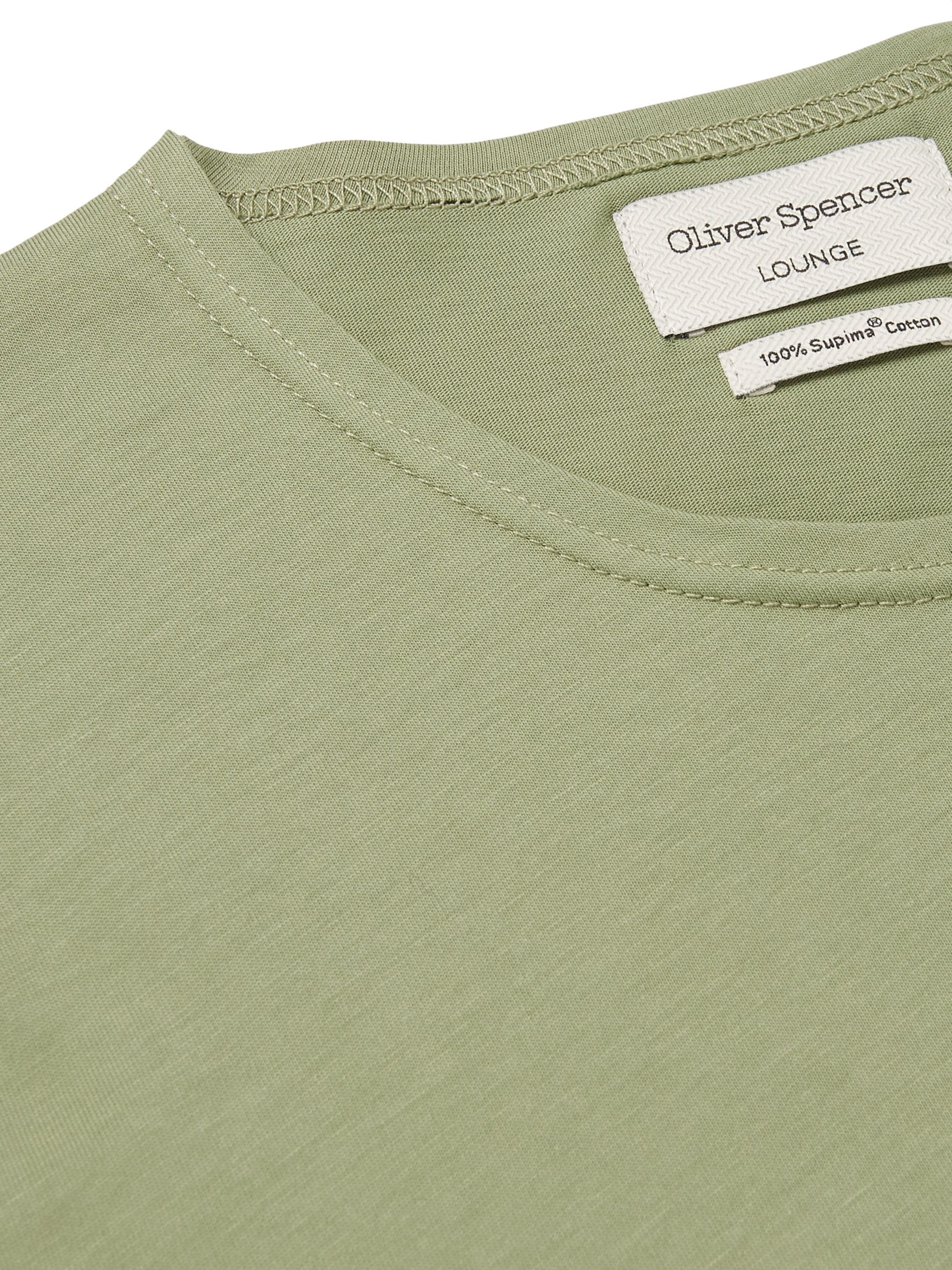 Oliver Spencer Loungewear Supima Cotton-Jersey T-Shirt