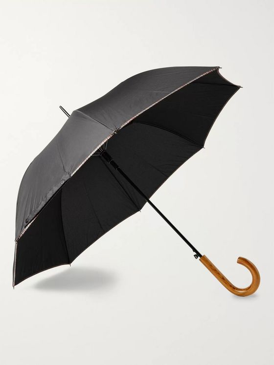 Paul Smith Walker Wood-Handle Umbrella