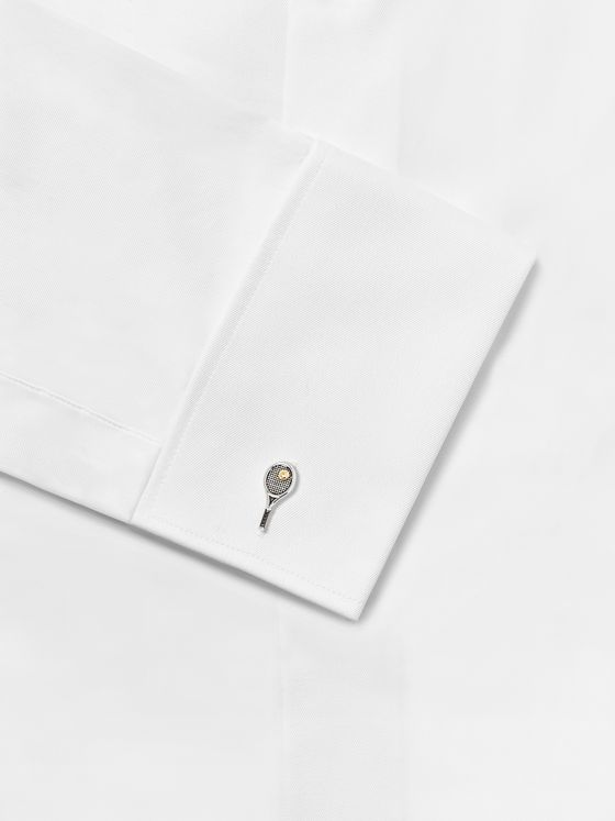 Paul Smith Silver-Tone Cufflinks