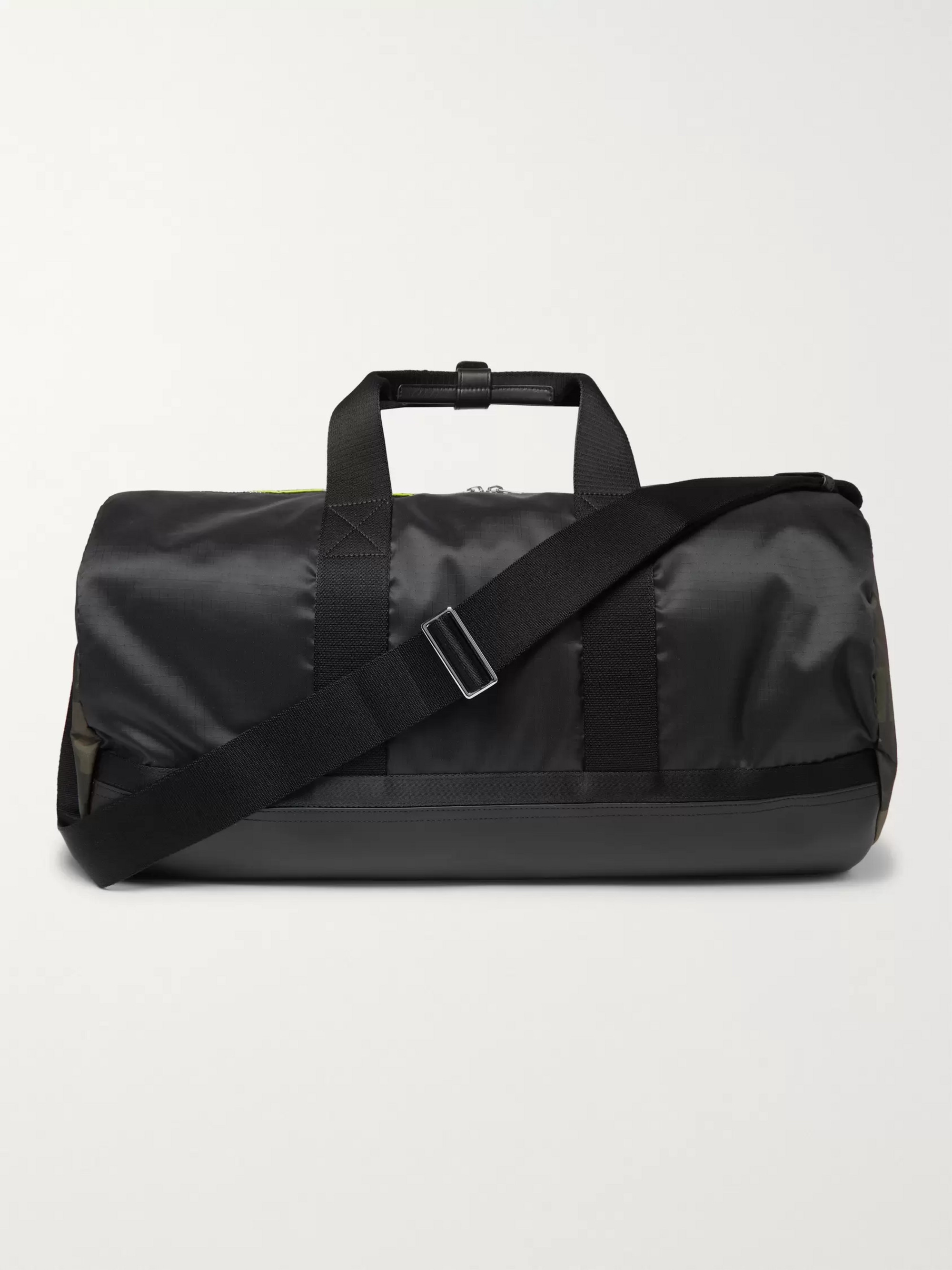 Paul Smith Leather-Trimmed Ripstop Holdall