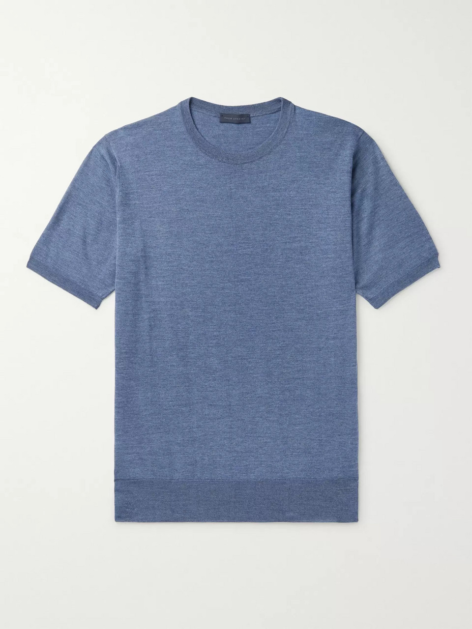 Thom Sweeney Slim-Fit Merino Wool T-Shirt