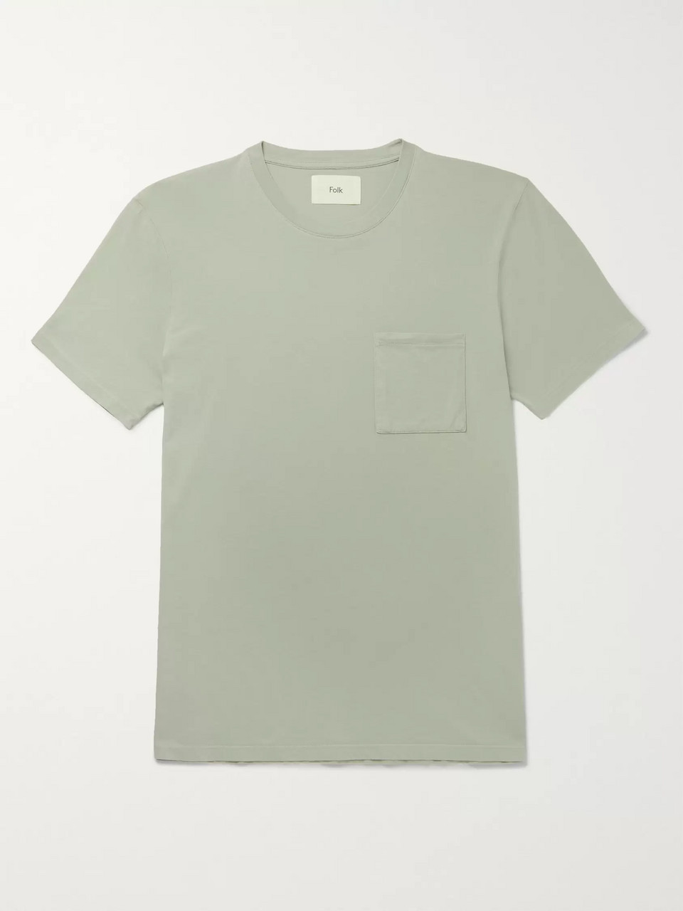 Folk Assembly Slim-Fit Cotton-Jersey T-Shirt
