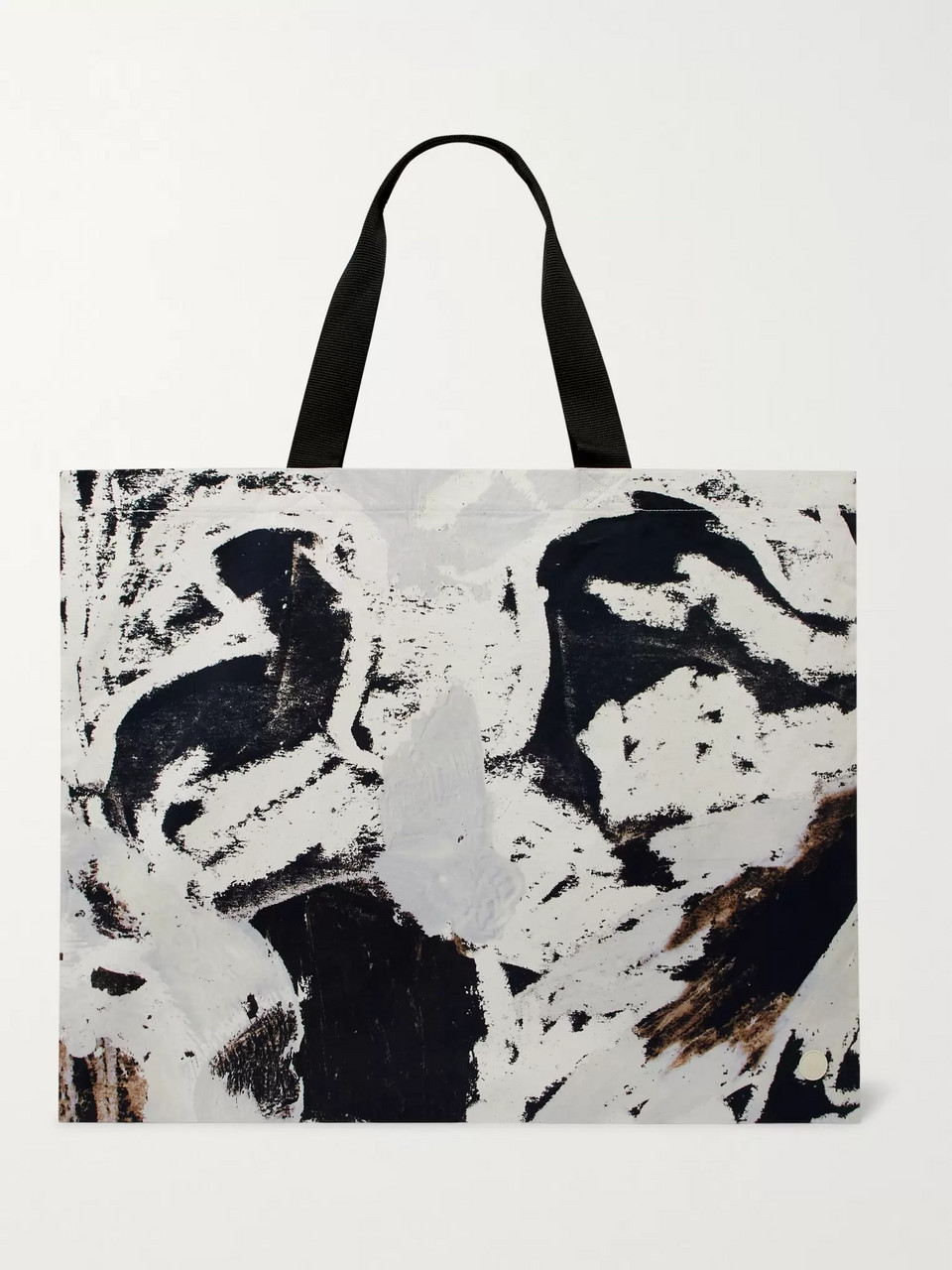 Folk + Alfie Kungu Printed Cotton-Twill Tote Bag