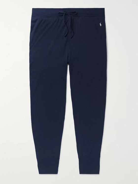Polo Ralph Lauren Tapered Cotton-Jersey Sweatpants