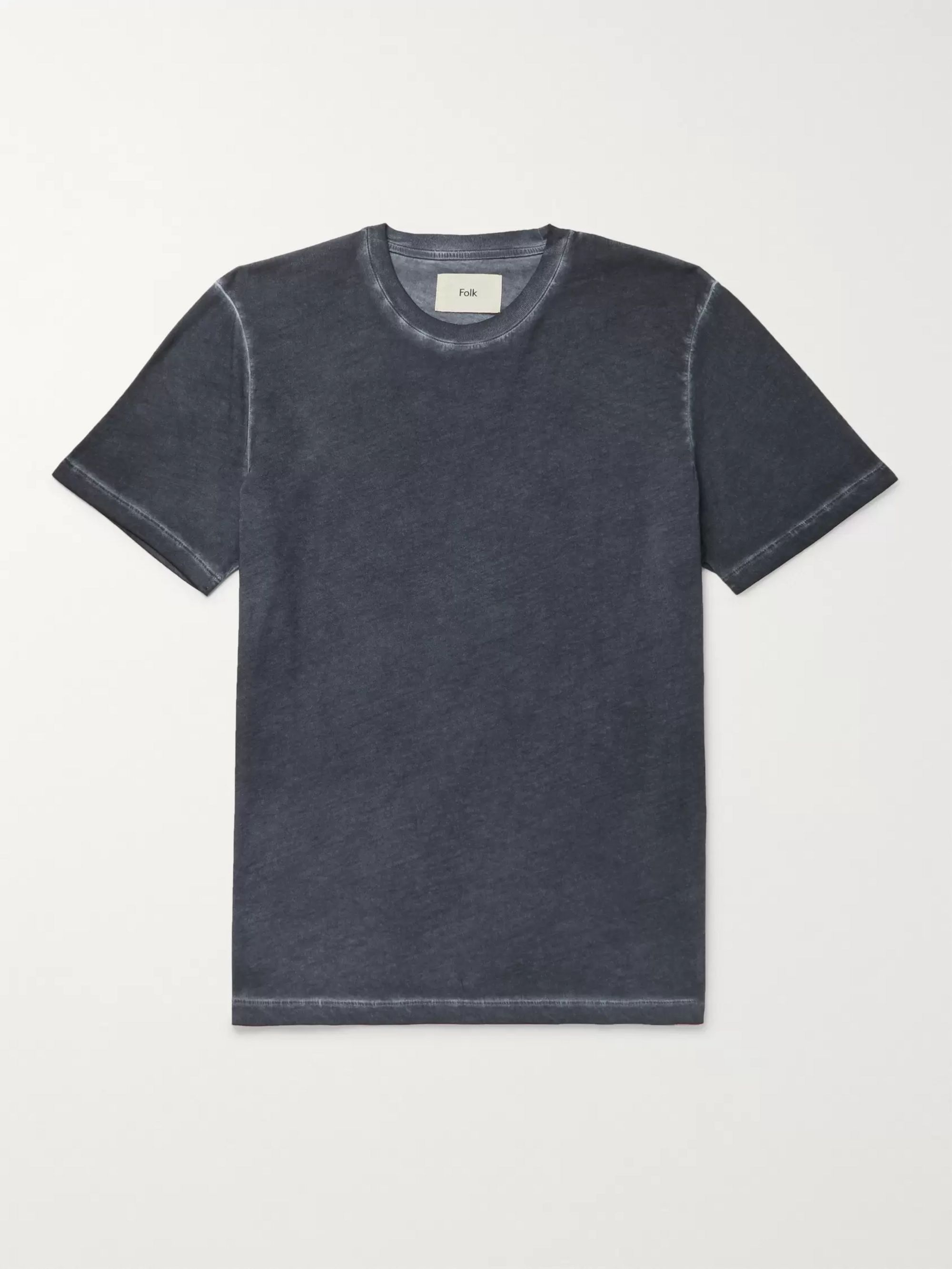 Folk Assembly Cotton-Jersey T-Shirt