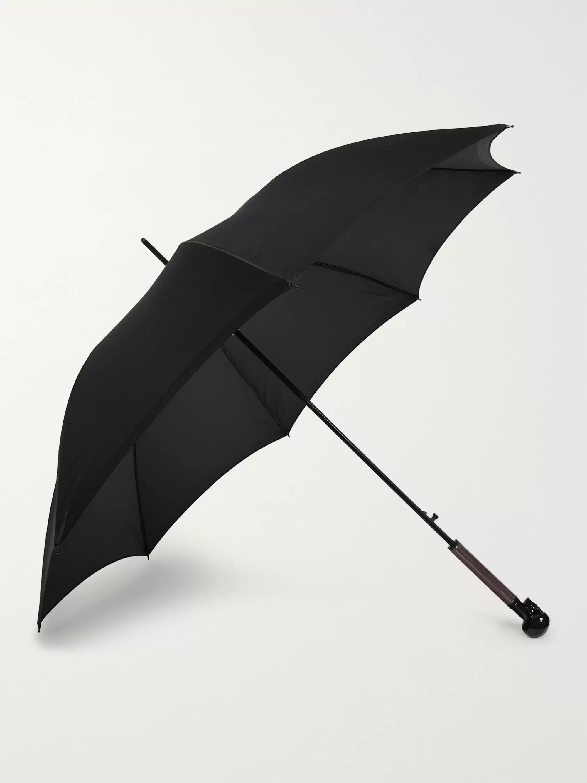 Alexander McQueen Skull-Handle Umbrella