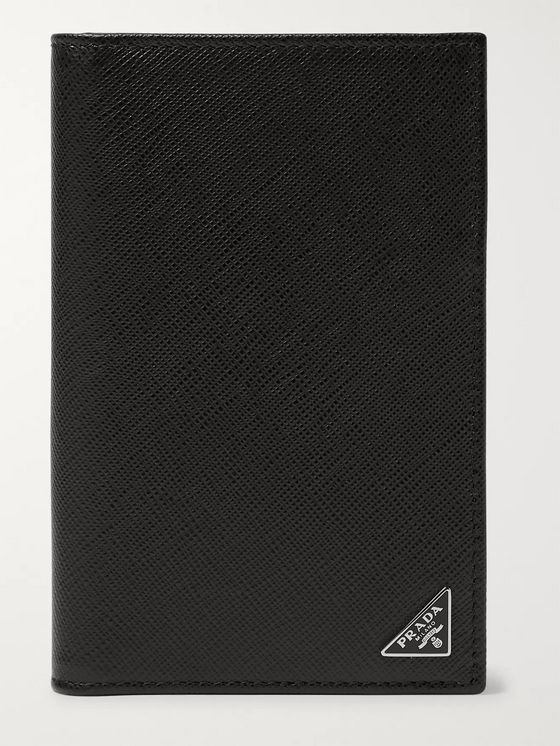 Prada Saffiano Leather Passport Cover