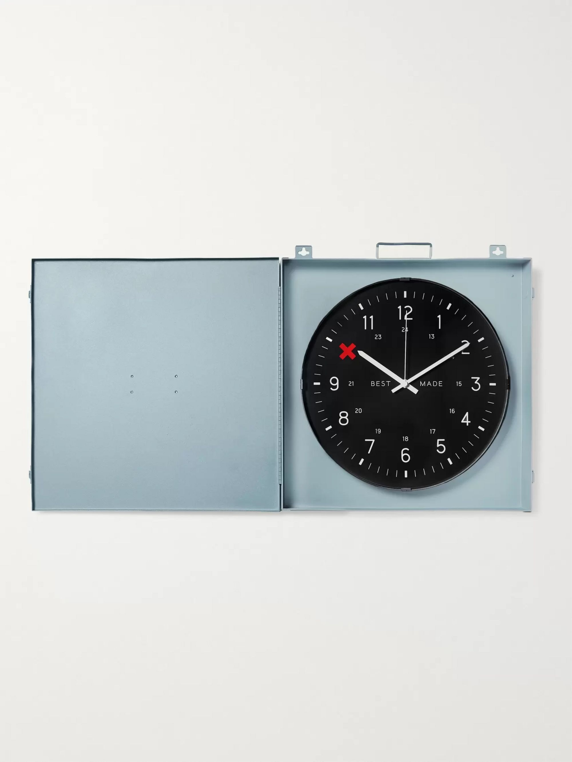 Best Made Company Workshop Metal Clock