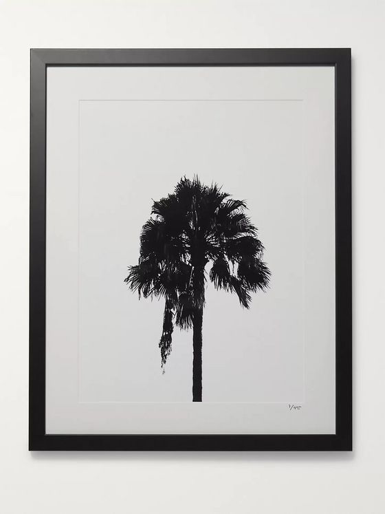 "Sonic Editions Framed 2017 Palm Tree Print, 16"" x 20"""