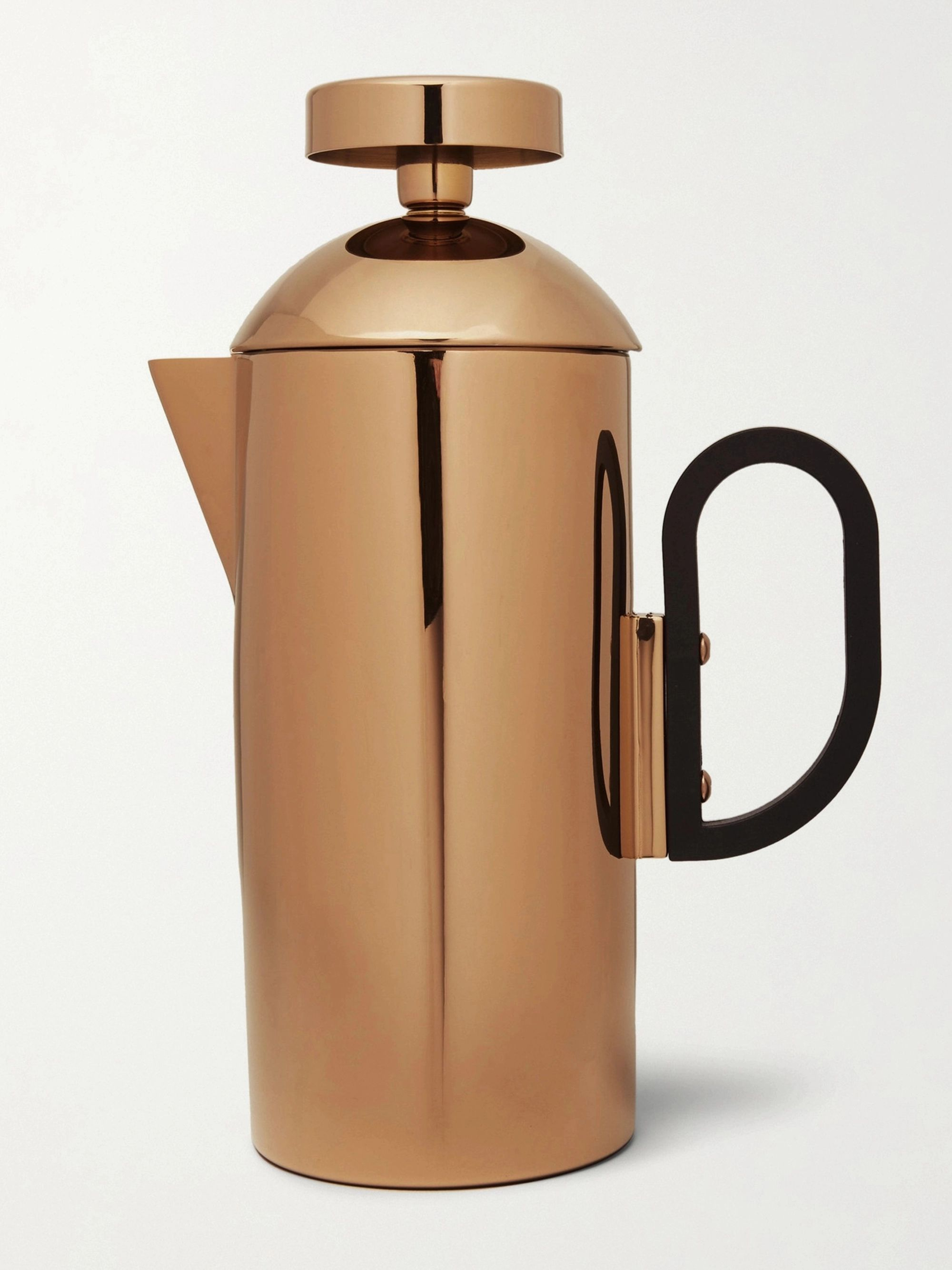 Tom Dixon Brew Copper-Plated Cafetiere