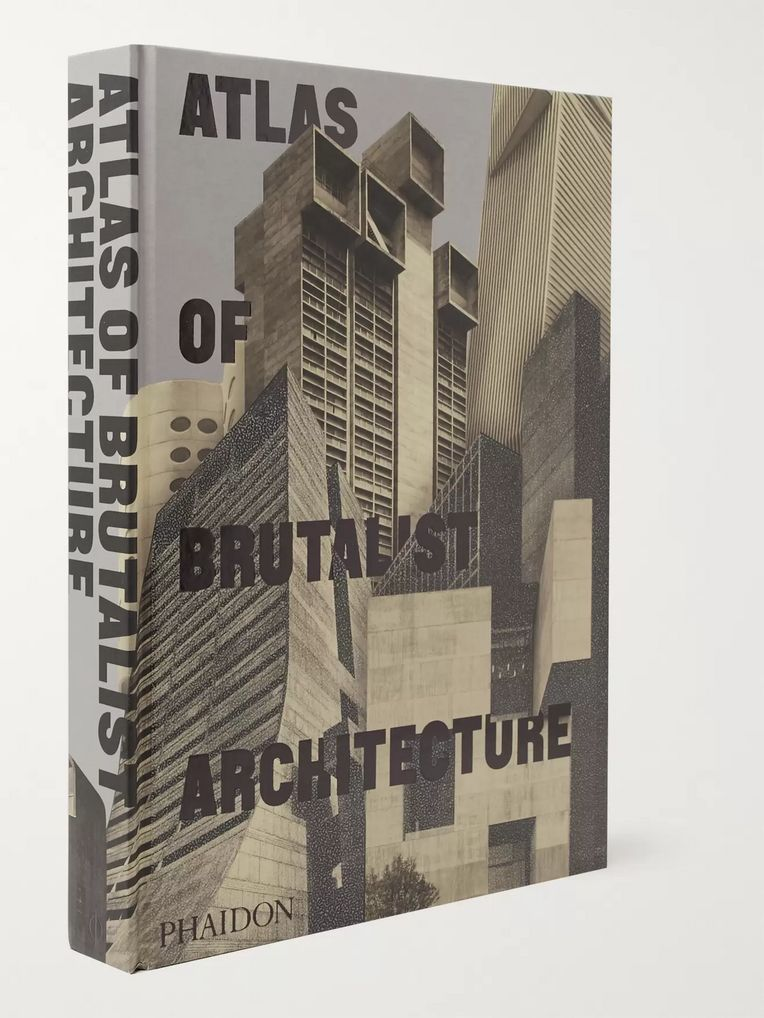 Phaidon Atlas of Brutalist Architecture Hardcover Book