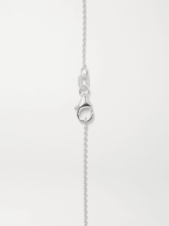 LE GRAMME 15/10ths Brushed Sterling Silver Necklace