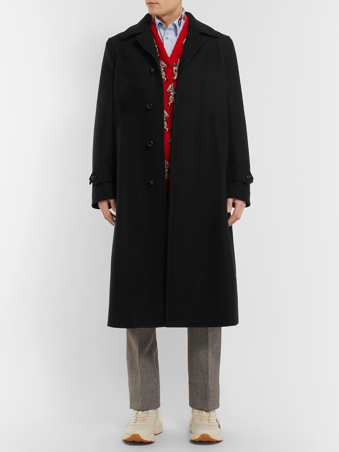 Gucci Coats OVERSIZED WOOL COAT
