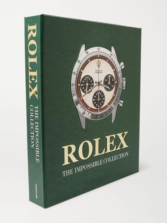 Assouline Rolex: The Impossible Collection Hardcover Book