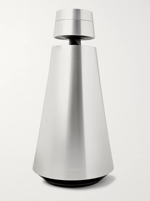 bang amp; olufsen - beosound 1 portable wireless speaker - silver - one size - men
