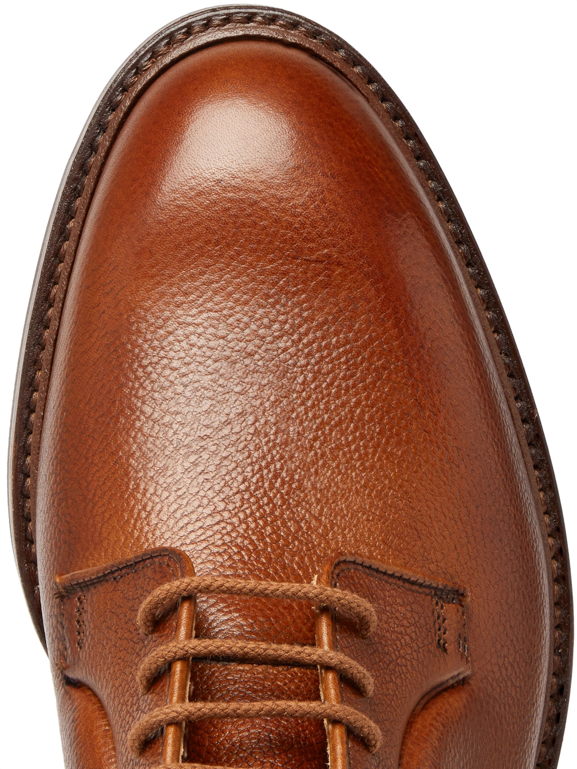 George Cleverley Archie Full-Grain Leather Derby Shoes