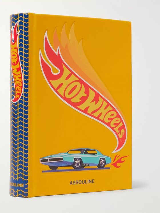 Assouline Hot Wheels Hardcover Book