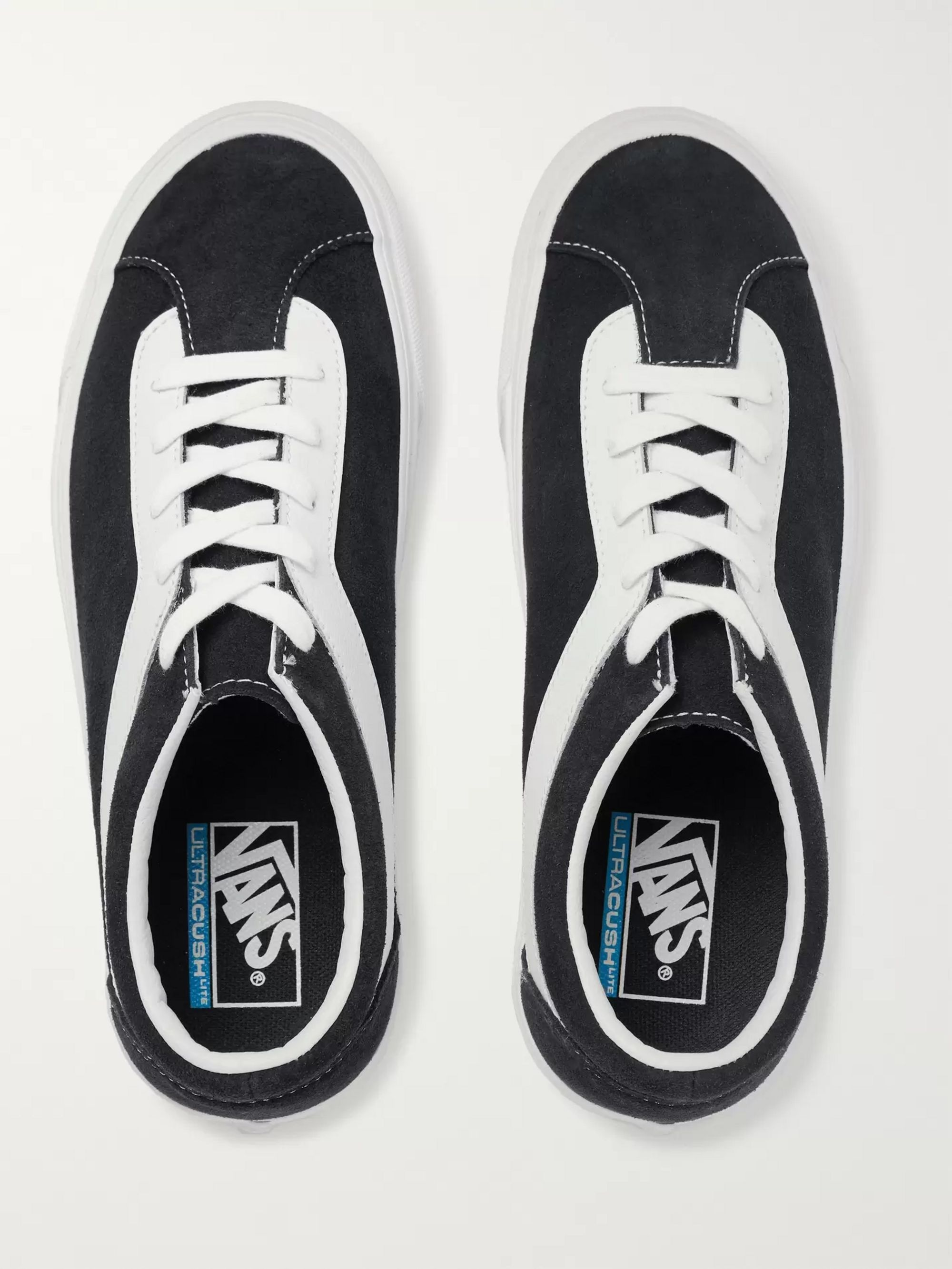 Vans Staple Bold Ni Suede and Leather Sneakers
