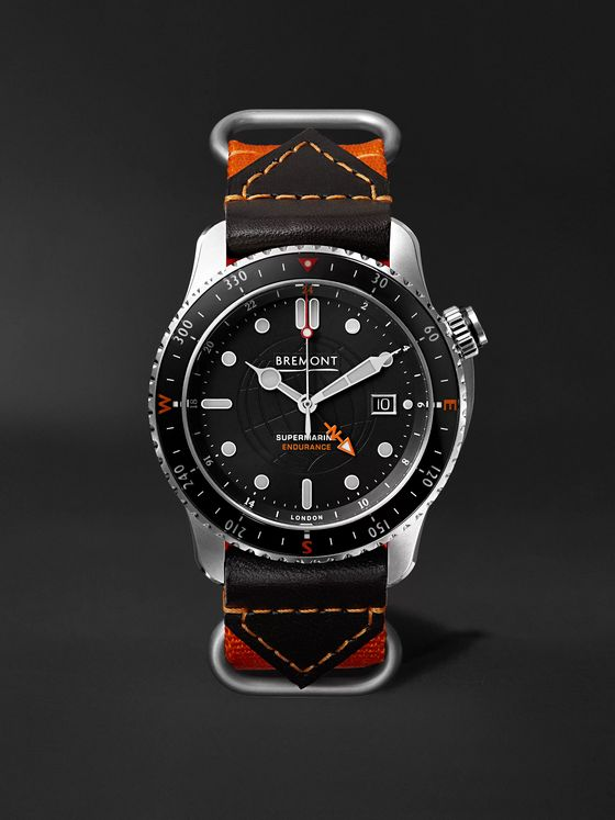 Bremont Supermarine Endurance Limited Edition Automatic GMT 43mm Titanium and Nylon Watch, Ref. No. S500/ENDURANCE