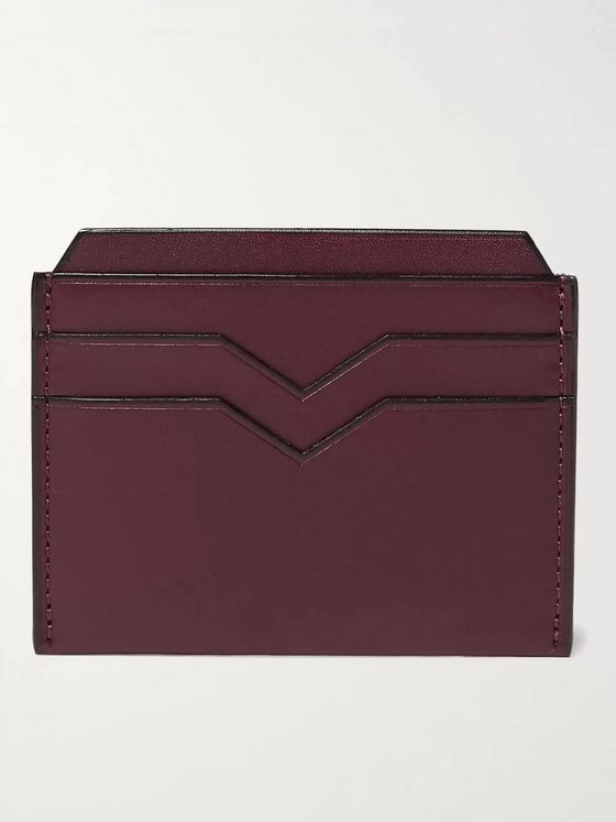 Valextra Leather Cardholder
