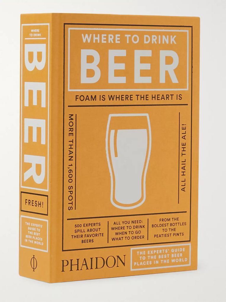 Phaidon Where to Drink Beer Hardcover Book