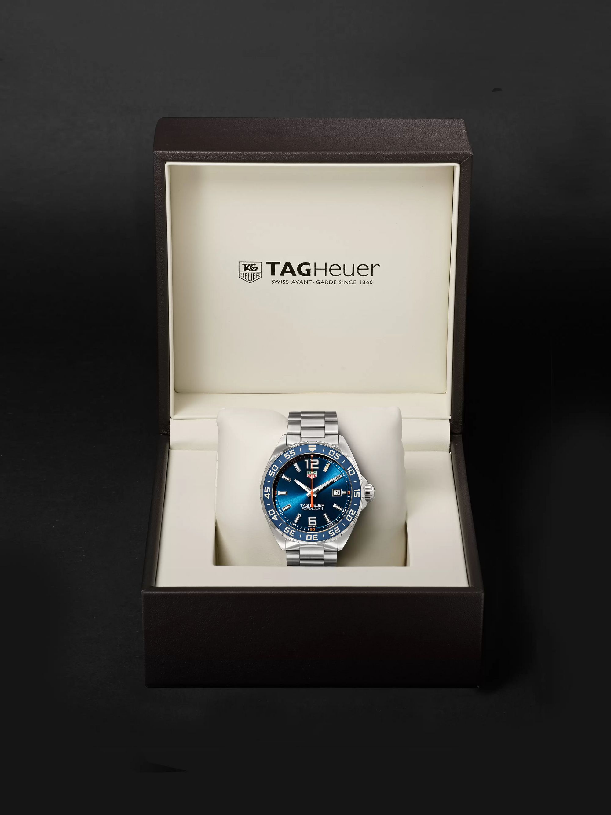TAG Heuer Formula 1 Quartz 43mm Stainless Steel Watch, Ref. No. WAZ1010.BA0842