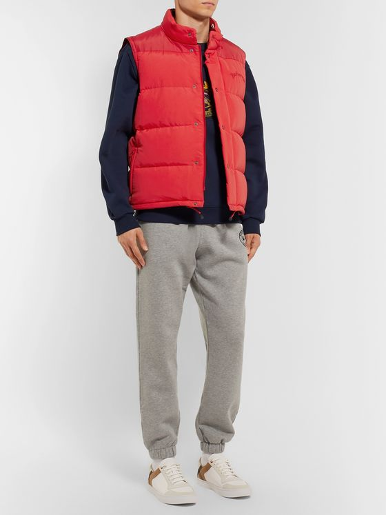 Burberry Slim-Fit Logo-Embroidered Quilted Nylon Down Gilet