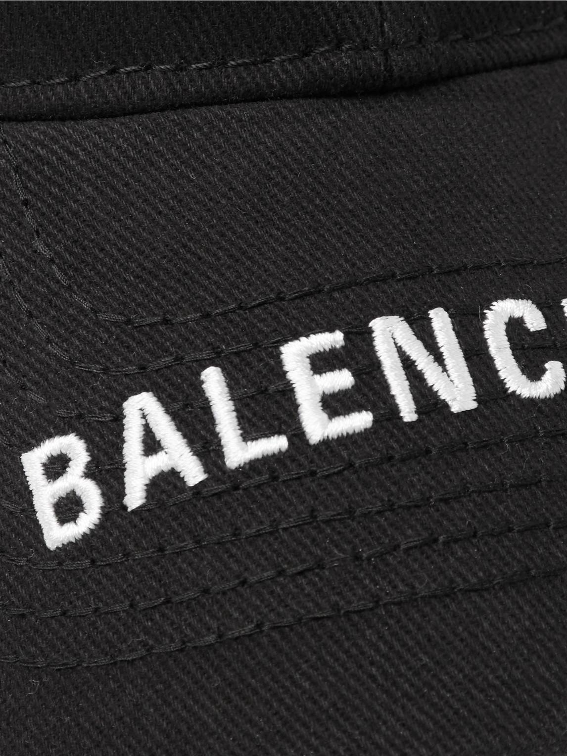 Balenciaga Accessories LOGO-EMBROIDERED COTTON-TWILL BASEBALL CAP