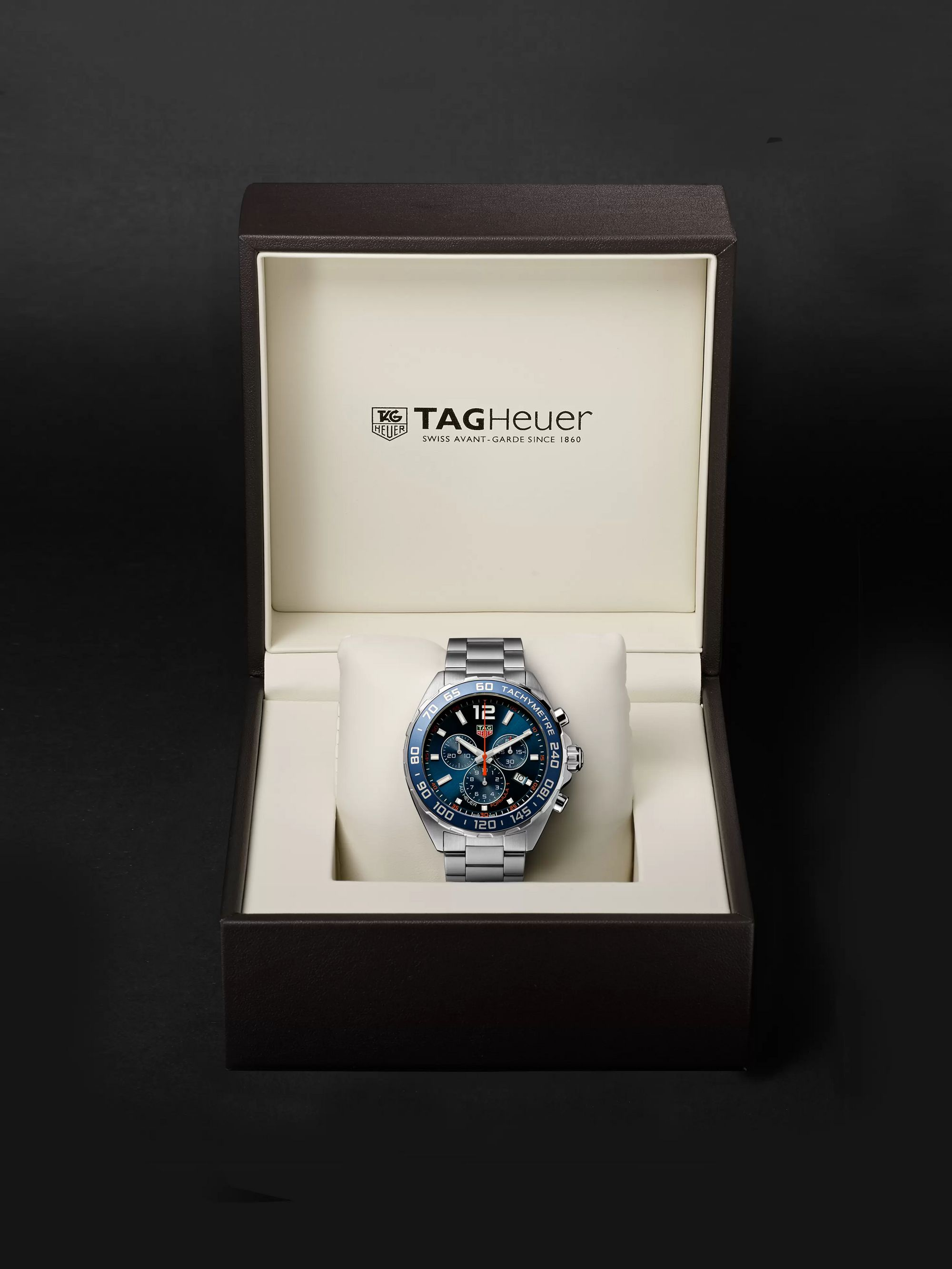 TAG Heuer Formula 1 Chronograph 43mm Stainless Steel Watch, Ref. No. CAZ1011.BA0843