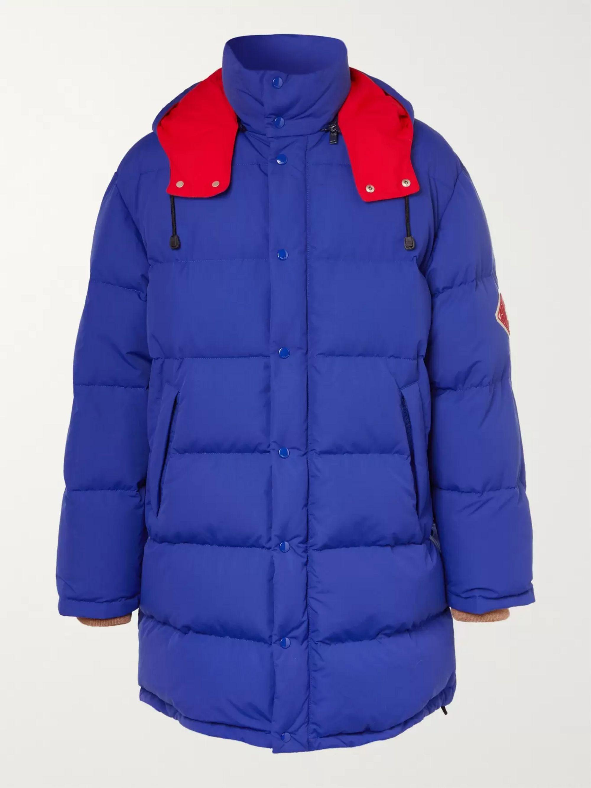 bfa1f016e Logo-Appliquéd Nylon Quilted Down Jacket
