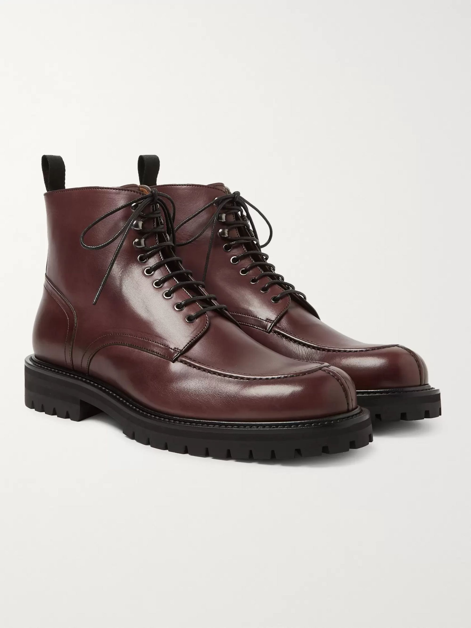 Jacques Leather Boots