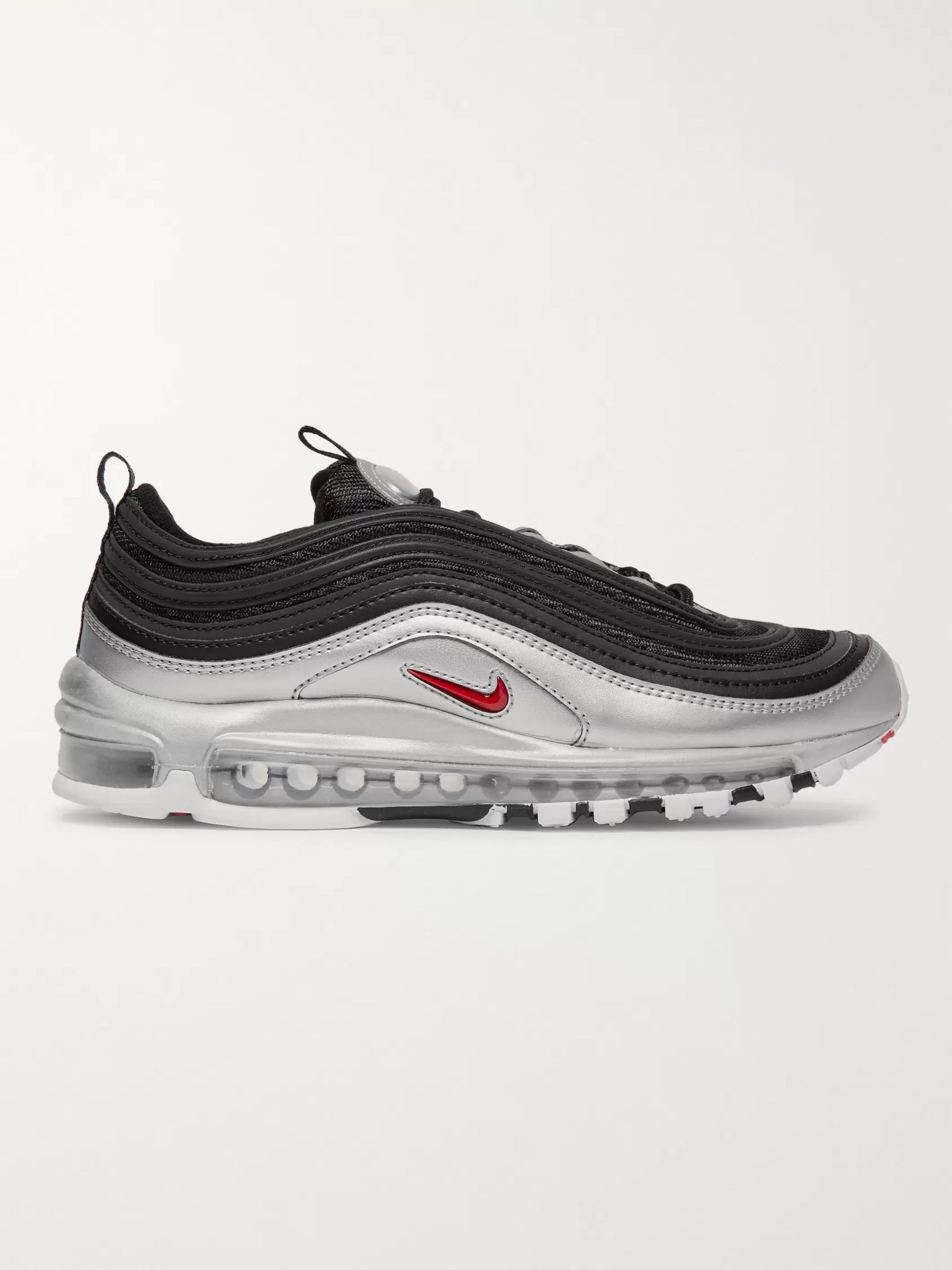 Air Max 97 QS Faux Leather and Mesh Sneakers