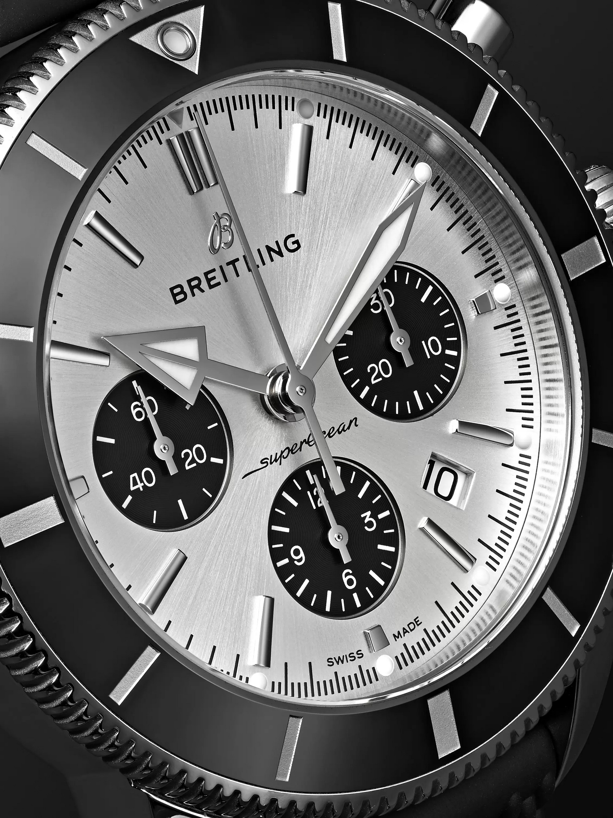 Breitling Superocean Héritage II B01 Chronometer 44mm Stainless Steel and Rubber Watch