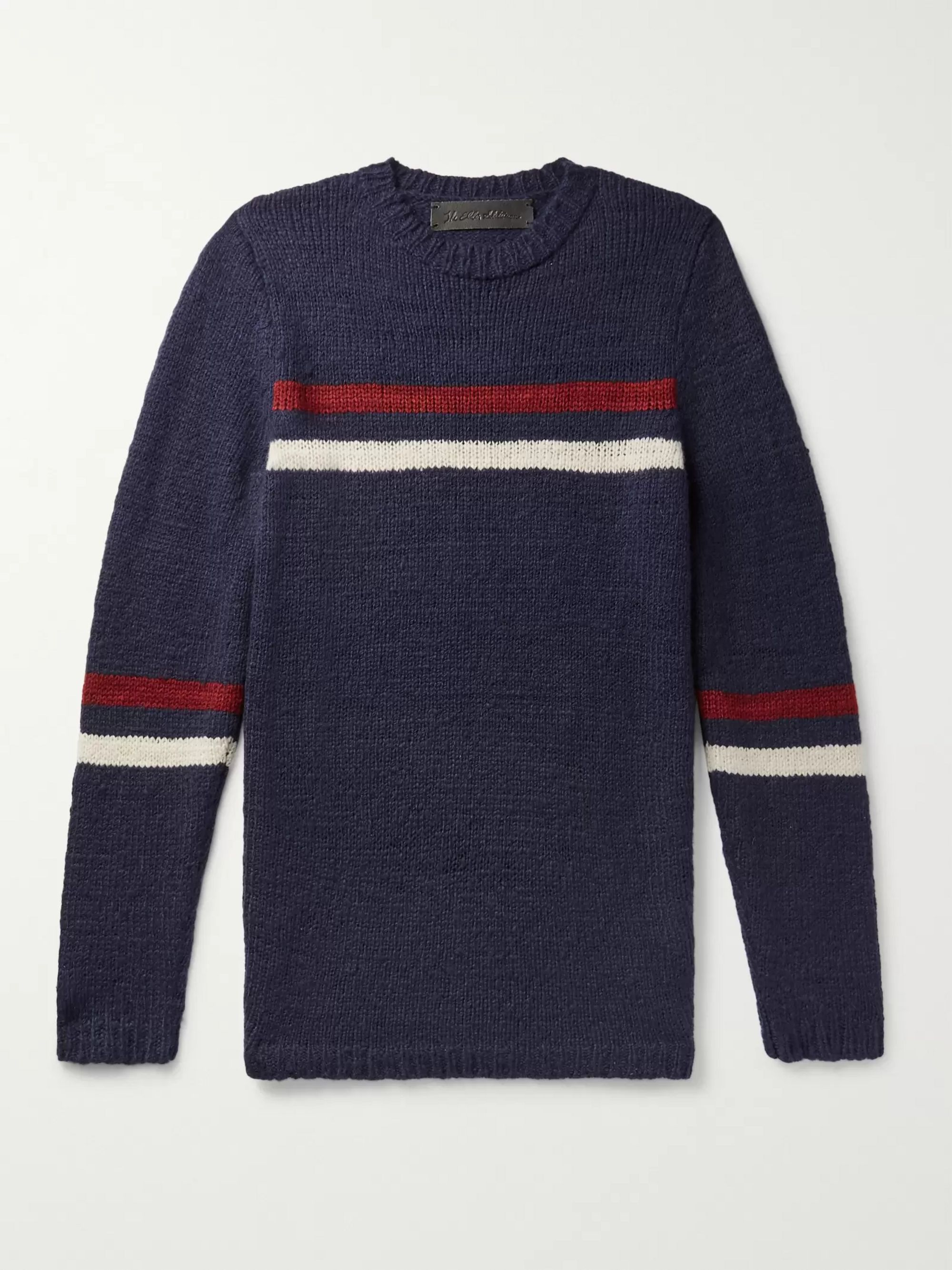 e420a4cc076 Slim-Fit Striped Cashmere Sweater