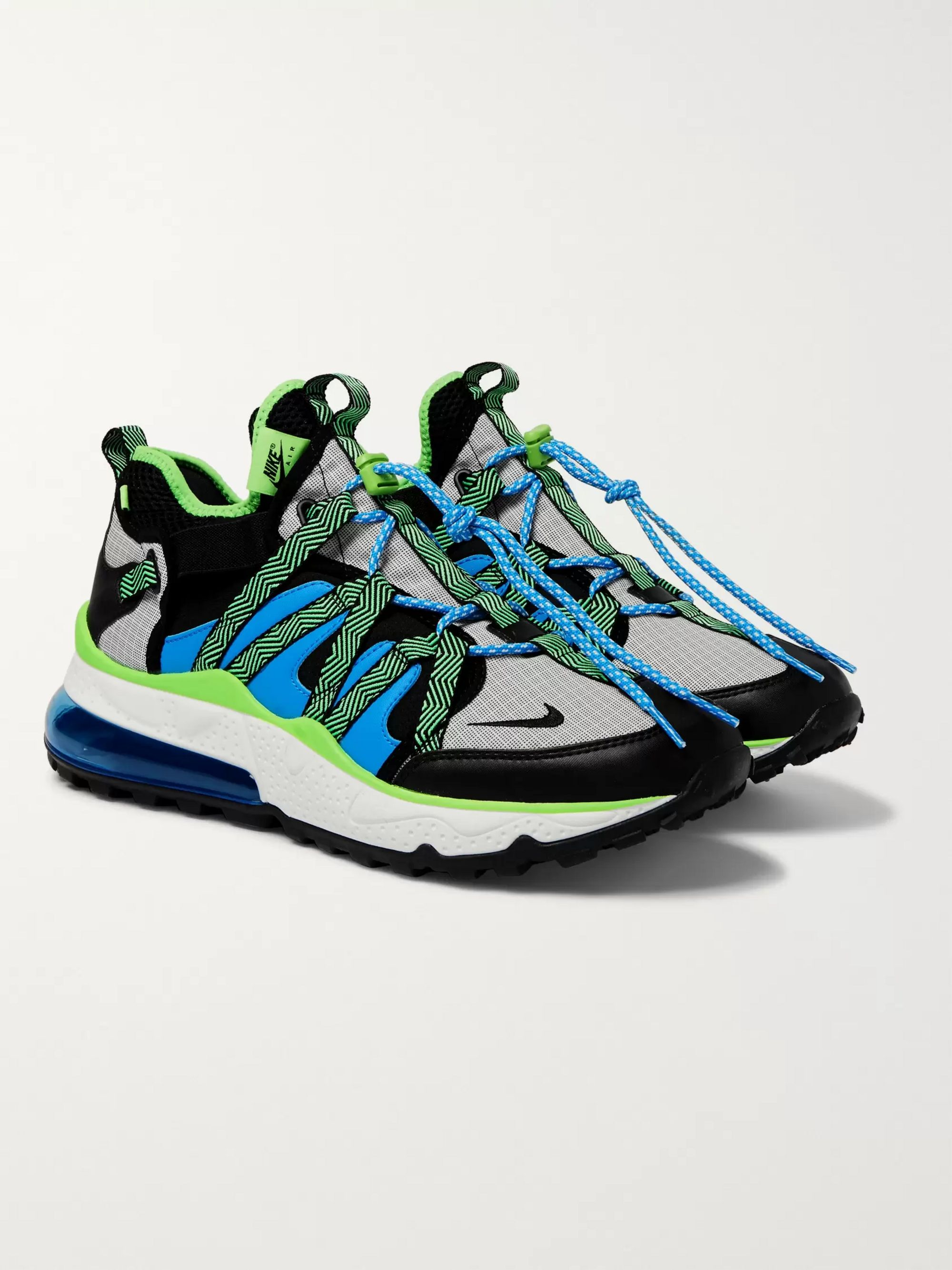 hot sale online 1508f 1aa28 Air Max 270 Bowfin Mesh and Nylon Sneakers