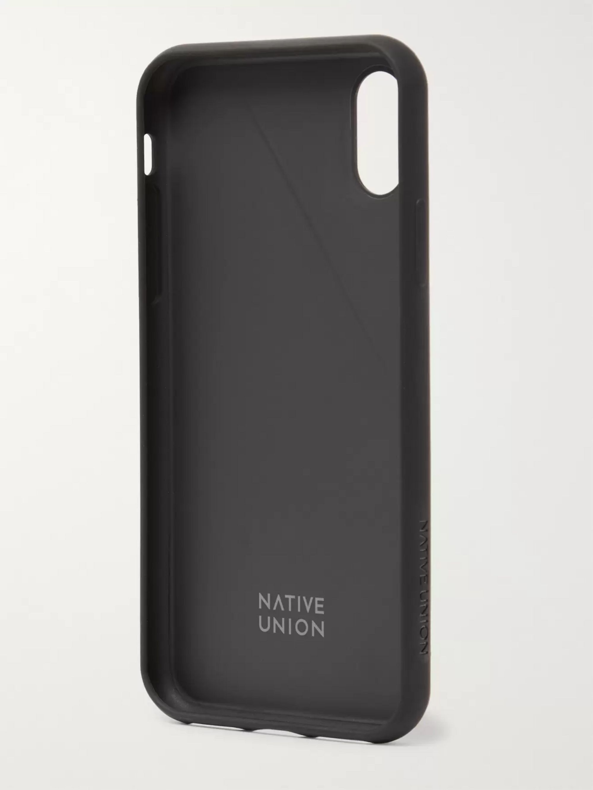 Native Union Clic Terrazzo Rubber iPhone X and XS Case