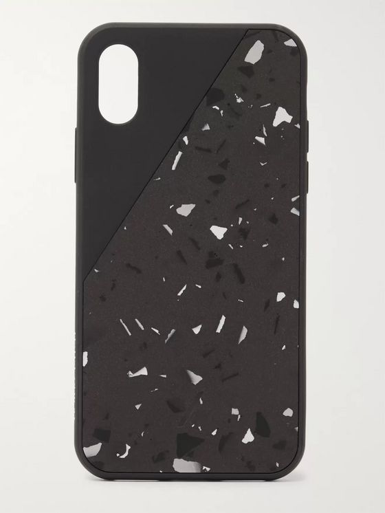 Native Union Clic Terrazzo Rubber iPhone XS Max Case
