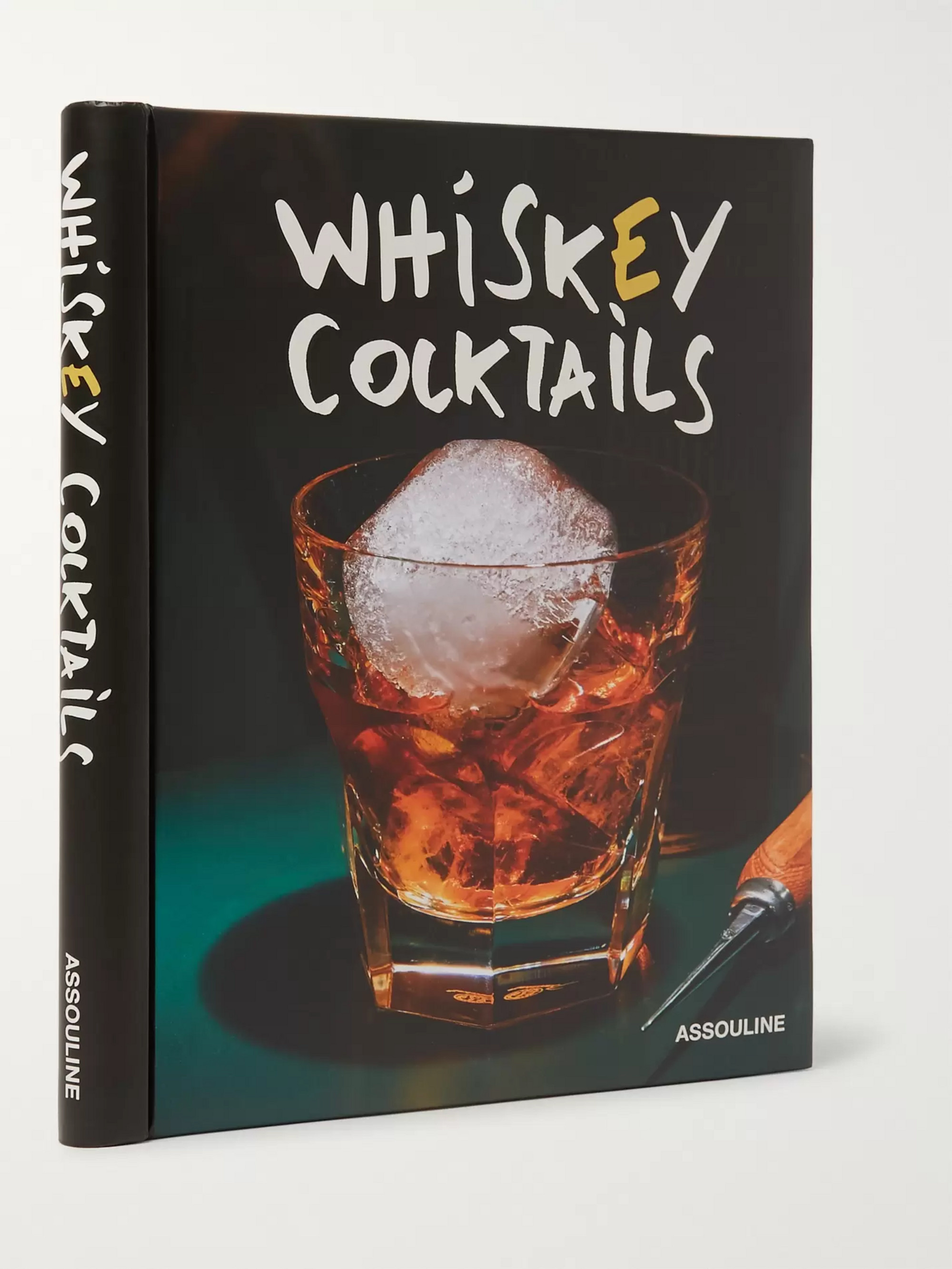 Assouline Whiskey Cocktails Hardcover Book