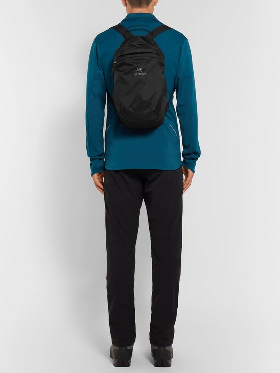 Arc'teryx Index 15 Logo-Embroidered Nylon Backpack