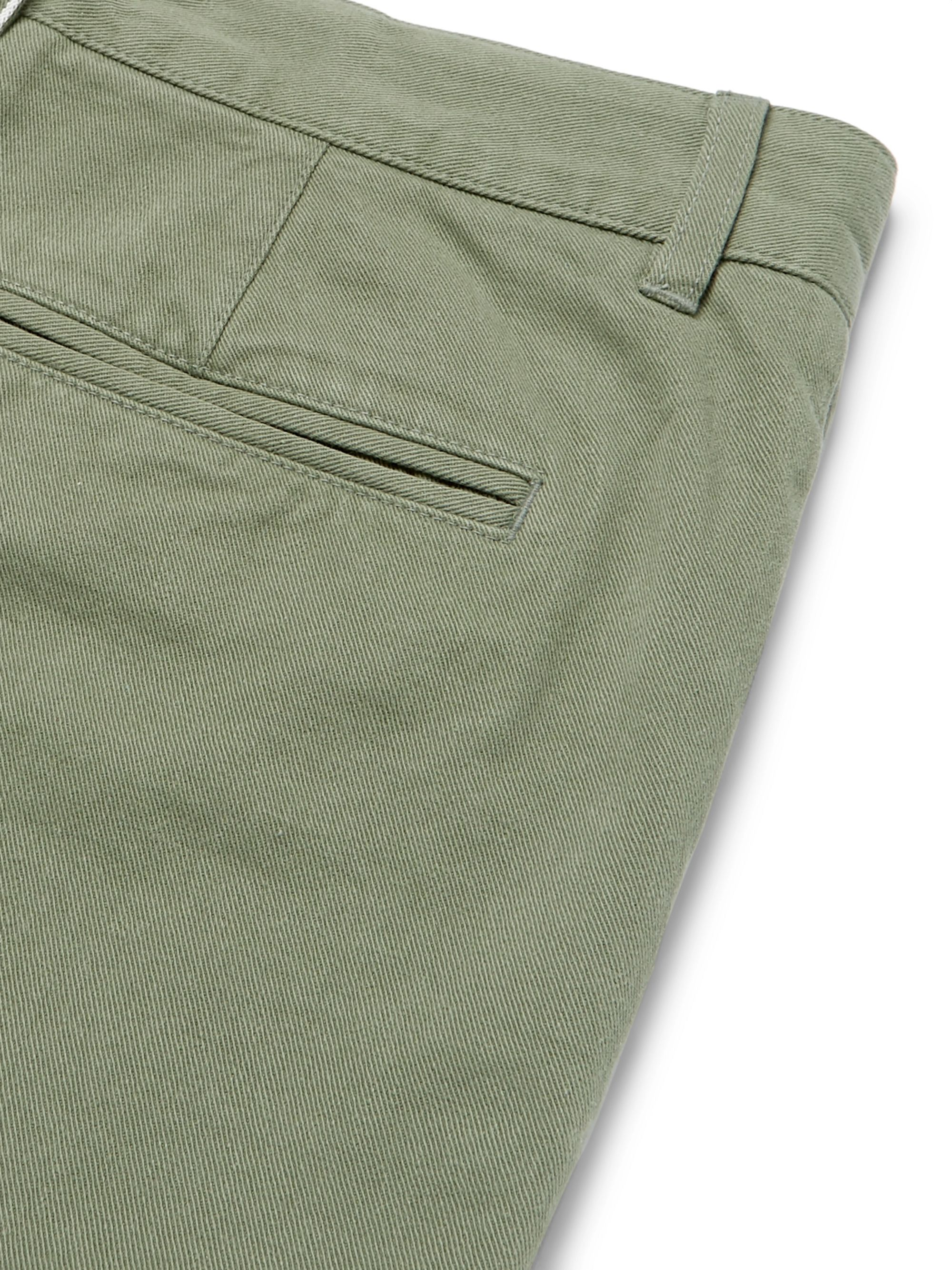 Officine Generale Oliver Slim-Fit Selvedge Cotton-Twill Chinos
