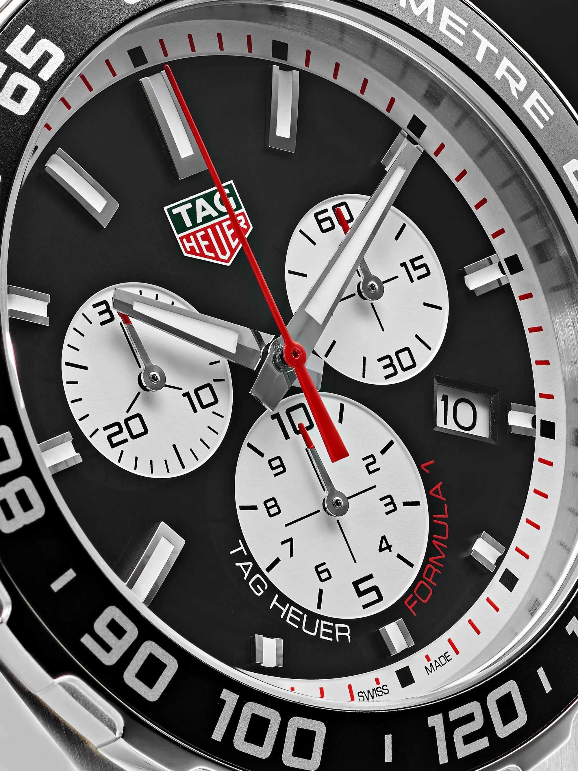 TAG Heuer Formula 1 Quartz Chronograph 43mm Stainless Steel Watch