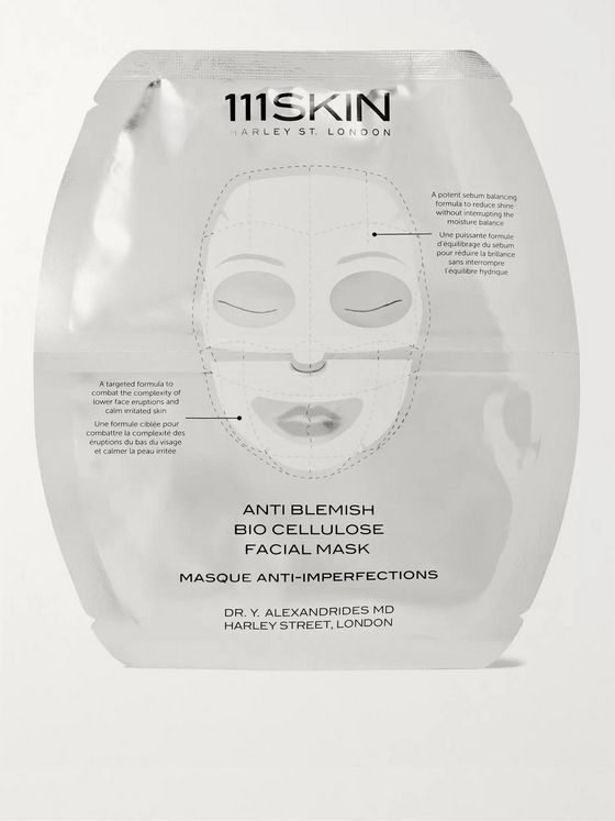 111SKIN Anti Blemish Bio Cellulose Facial Mask