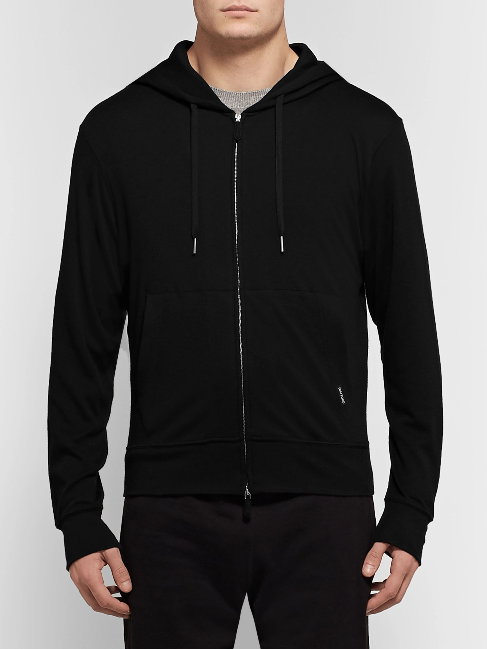 TOM FORD Cashmere Zip-Up Hoodie