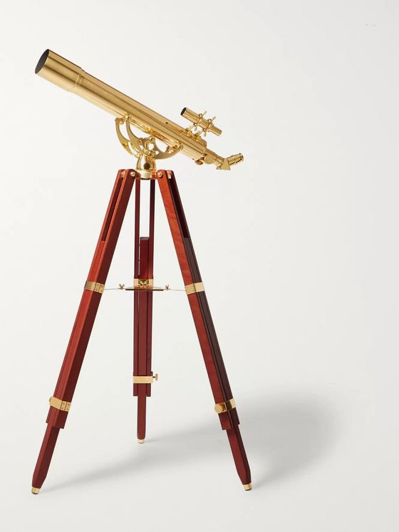 Celestron Ambassador 80mm Brass and Mahogany Telescope